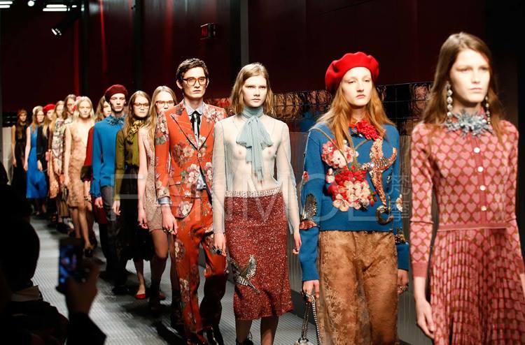 Вышивка бисером в коллекции модного дома Gucci