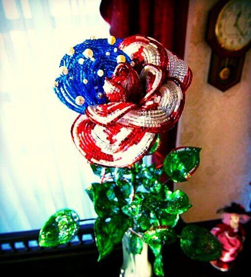 Бисерная роза для первой леди США(6)