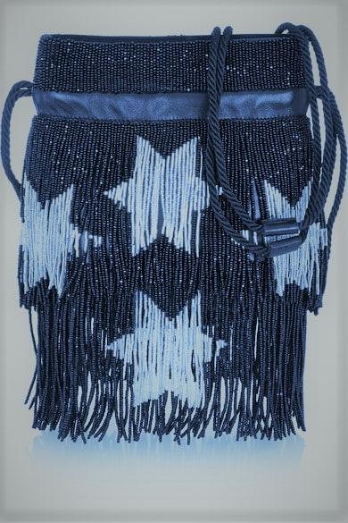 """""""Звёздное небо"""" расшитые бисером сумки от Saint Laurent"""