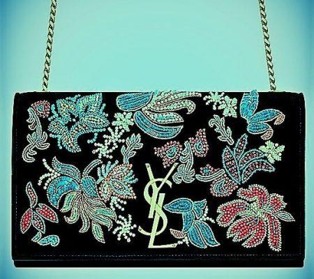 Профиль_расшитые бисером сумки от Saint Laurent