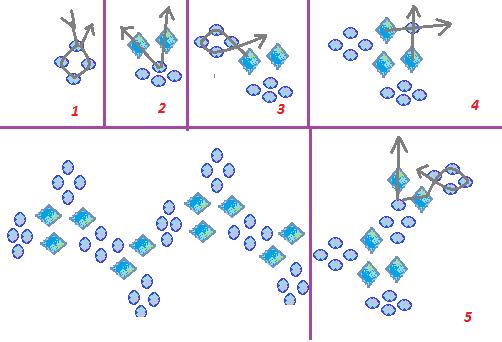схема плетения браслет из бисера