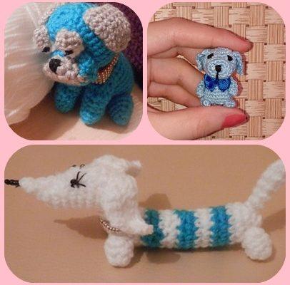 вязание крючком игрушки амигуруми год собаки